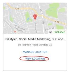 bizstyler google my business manage location 283x300 1
