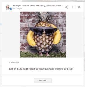 bizstyler google my business manage post 292x300 1