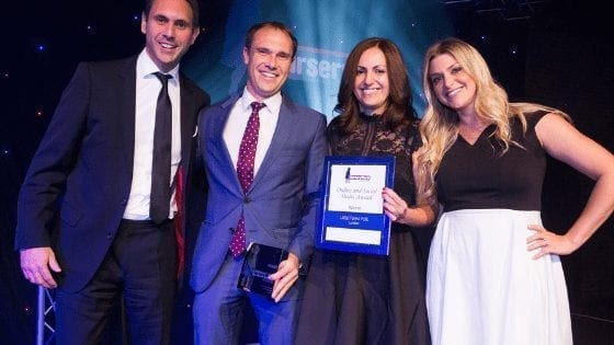 Social Media Management -Nursery World Awards Best Online and Social 2017 - Bizstyler