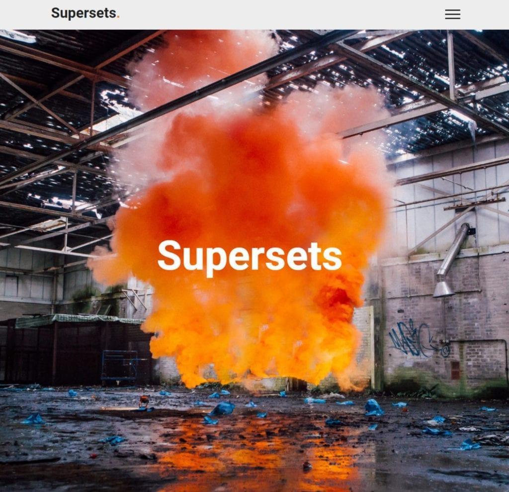 bizstyler website refesh supersets.co .uk screenshot